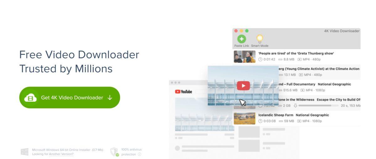 download youtube 4k video downloader