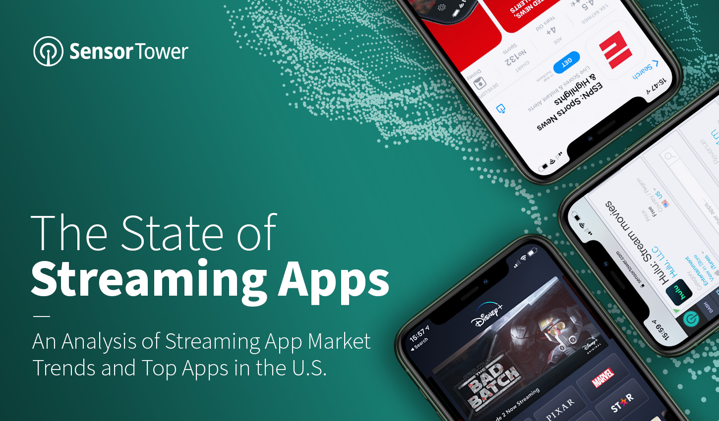 Takeaways from Sensor Tower's 2021 State of Streaming Apps report.
